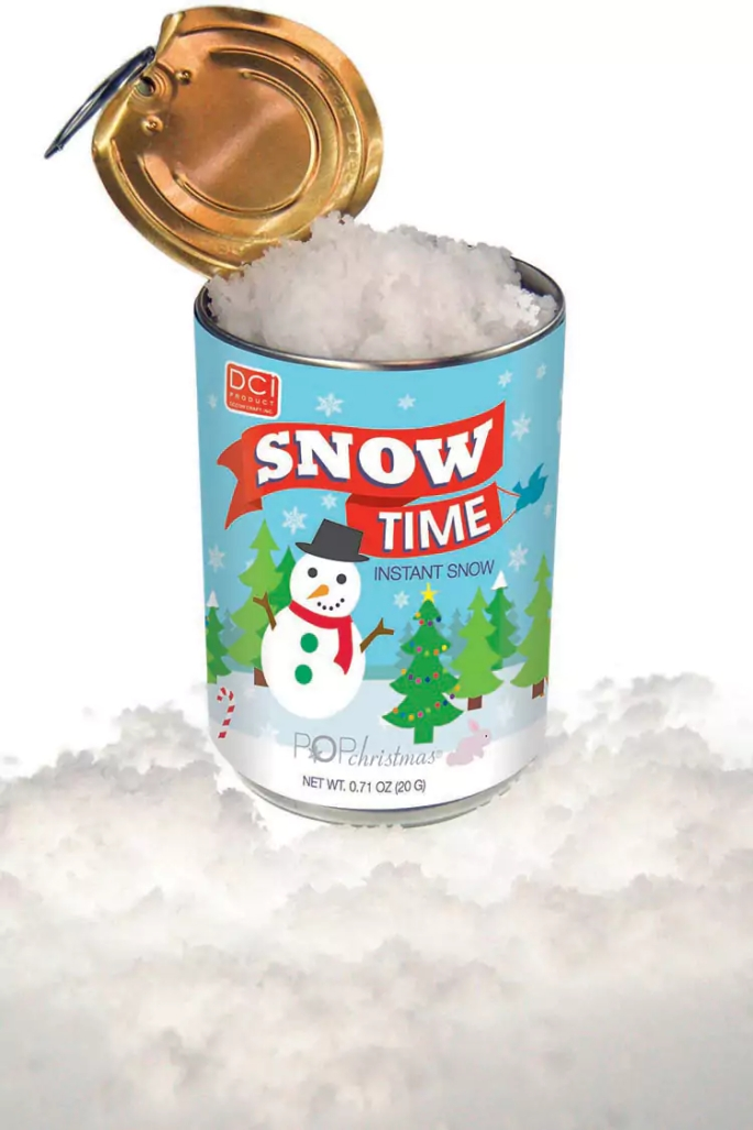 can o snow